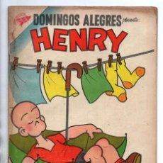 Tebeos: DOMINGOS ALEGRES # 169 NOVARO 1957 CARL ANDERSON HENRY PULGARCITO BUEN ESTADO. Lote 97970371