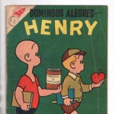 Tebeos: DOMINGOS ALEGRES # 177 NOVARO 1957 CARL ANDERSON HENRY PULGARCITO BUEN ESTADO. Lote 97970475