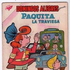 Tebeos: DOMINGOS ALEGRES # 334 NOVARO 1960 JIMMY HATLO PAQUITA LA TRAVIESA PEPINO LITTLE IODINE MUY BUEN EST. Lote 97997111