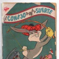 Tebeos: EL CONEJO DE LA SUERTE # 55 NOVARO 1955 ELMER GRUÑON PORKY SILVESTRE CON DETALLES. Lote 98031679
