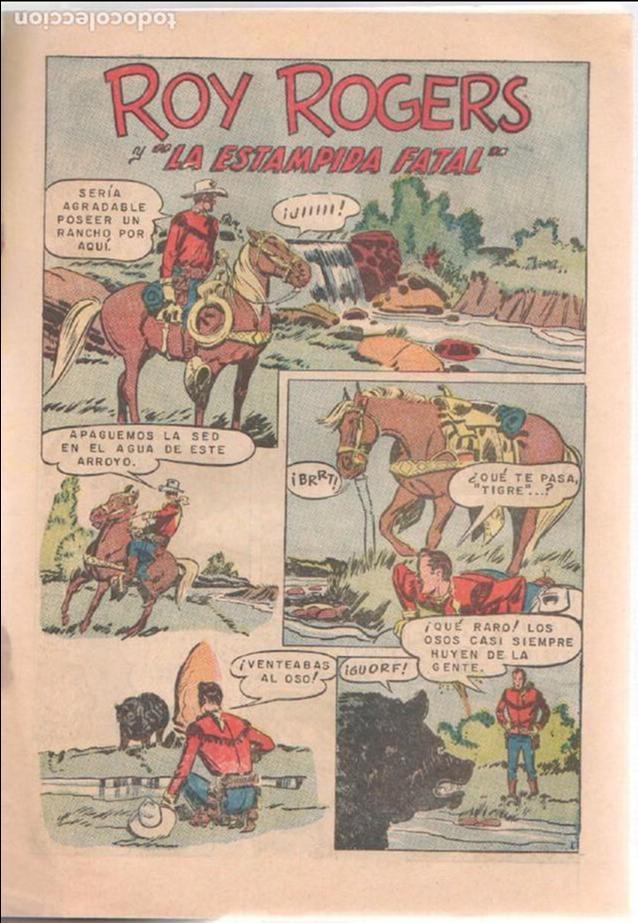 Tebeos: ROY ROGERS Nº 147 - NOVARO 1964 - MUY BUENA CONSERVACIÓN - Foto 3 - 98167879