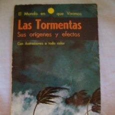 Tebeos: LAS TORMENTAS SUS ORIGENES Y EFECTOS PAUL E. LEHR EDITORIAL NOVARO. Lote 98192375