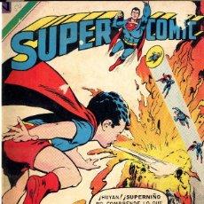 Tebeos: ENCUADERNADO NOVARO SUPERMAN Y SUPERCOMIC 1970 DEL Nº 760AL 769 BIBILOTA FRONTAL ABAJO. Lote 98636031