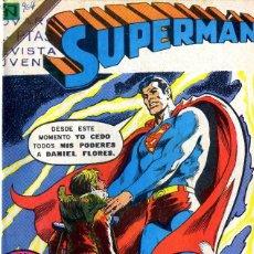 Tebeos: SUPERMAN NOVARO ENCUADERNADO ENTRE EL Nº 964 AL 999 ANO 1974/75 BILIOTECA FRONTAL ABAJO. Lote 98638611