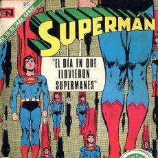 Tebeos: SUPERMAN NOVARO AÑO 1971 DEL 804 AL 821 TODOS ENCUADERNADOS BIBLIOTECA FRONTAL PARTE DE ABAJO. Lote 98665051