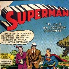 Tebeos: SUPERMAN NOVADO ENTRE Nº 56 Y 107 AÑO 1955 ENCUADERNADOS BIBLIOTEC FRONTAL ABAJO. Lote 98703619