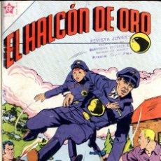 Tebeos: EL ALCÓN DE ORO NOVARO 1958 NºS 1,2,3,4,5 UNA JOYA ARMARIO ISA 3ª ESTANTERIA. Lote 99081831