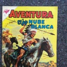 Tebeos: AVENTURA Nº 168 - EL JEFE NUBE BLANCA - MUY BUEN ESTADO. Lote 99294035