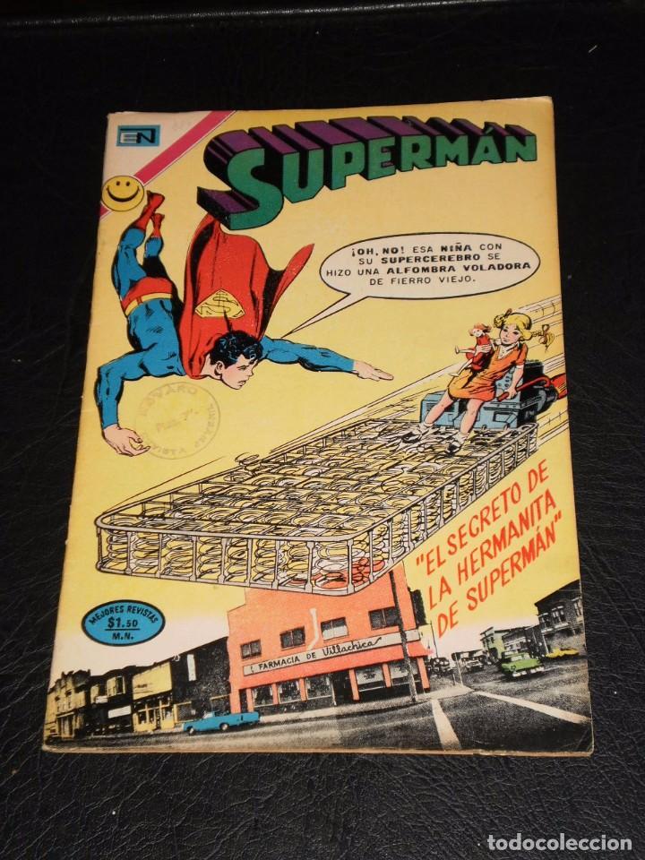 SUPERMAN Nº 884 - NOVARO – 1972 (Tebeos y Comics - Novaro - Superman)