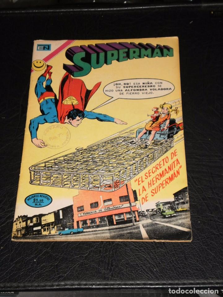 Tebeos: SUPERMAN nº 884 - NOVARO – 1972 - Foto 6 - 99353703