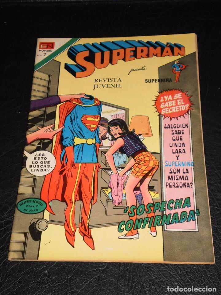 SUPERMAN Nº 888 - NOVARO – 1972 (Tebeos y Comics - Novaro - Superman)