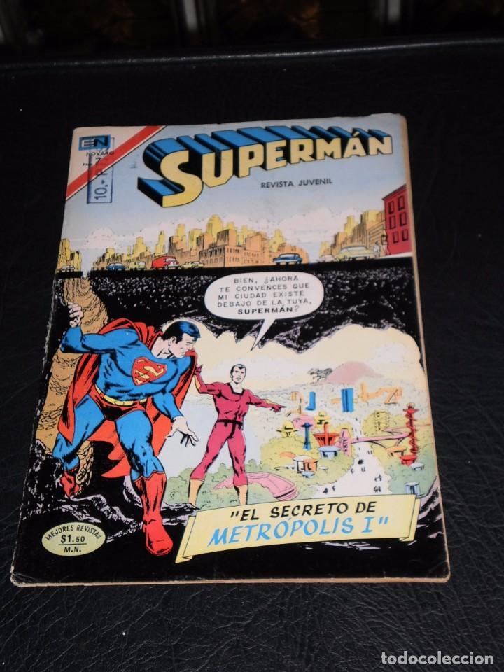 Tebeos: SUPERMAN - Nº 939 - 21 NOVIEMBRE 1973 - NOVARO - Foto 8 - 99354539