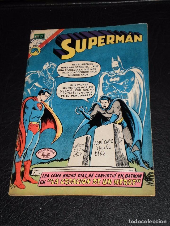 SUPERMAN Nº 904. 21 DE MARZO DE 1973. NOVARO, (Tebeos y Comics - Novaro - Superman)