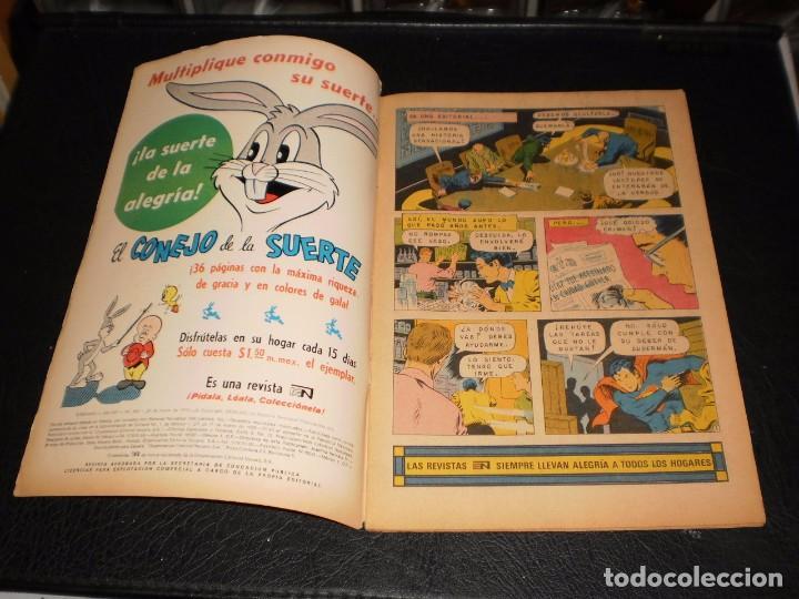 Tebeos: SUPERMAN nº 904. 21 de marzo de 1973. Novaro, - Foto 2 - 99370735