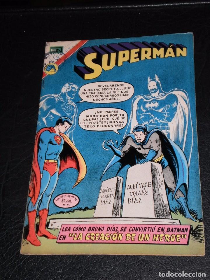 Tebeos: SUPERMAN nº 904. 21 de marzo de 1973. Novaro, - Foto 6 - 99370735