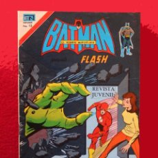 Tebeos: BATMAN PRESENTA A FLASH, Nº 2834, AÑO 1976, SERIE AGUILA, ORIGINAL - NOVARO. Lote 99685963