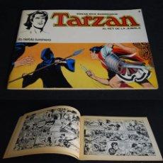 Tebeos: EDGAR RICE BURROUGHS. TARZAN EL REY DE LA JUNGLA Nº 8. LA NIEBLA LUMINOSA. NOVARO 1977. Lote 99783447