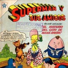 Tebeos: SUPERMAN NOVARO PROCEENTES ENCUDERNADO ENTRE Nº 16 Y 106 ARMARIO ISA 3ª ESTANTERIA. Lote 99809599