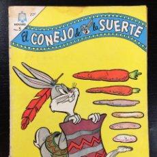 BDs: EL CONEJO DE LA SUERTE Nº 234 EDITORIAL NOVARO. Lote 99968195