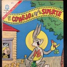 BDs: EL CONEJO DE LA SUERTE Nº 252 EDITORIAL NOVARO. Lote 99993339