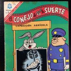 BDs: EL CONEJO DE LA SUERTE Nº 253 EDITORIAL NOVARO. Lote 99993383