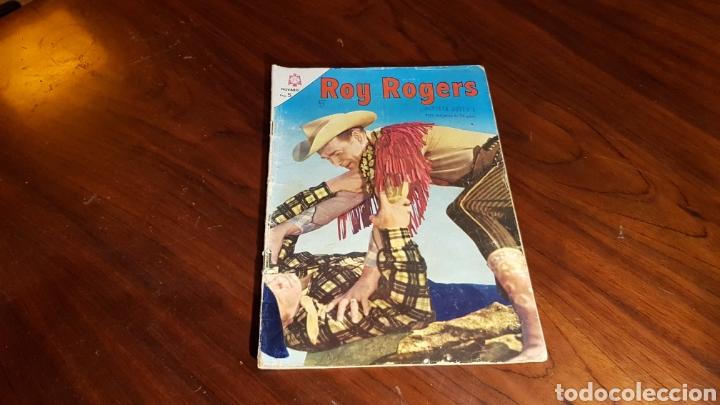 ROY ROGERS 163 NOVARO (Tebeos y Comics - Novaro - Roy Roger)