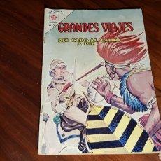Tebeos - GRANDES VIAJES 7 BUEN ESTADO NOVARO - 100013324