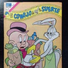 Tebeos: EL CONEJO DE LA SUERTE Nº 404 EDITORIAL NOVARO. Lote 100094655