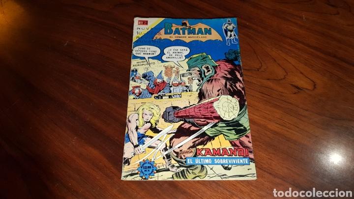 BATMAN 728 MUY BUEN ESTADO NOVARO (Tebeos y Comics - Novaro - Batman)