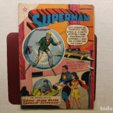 Tebeos: SUPERMAN NOVARO, NÚMERO 242, JUNIO 1960. Lote 100463603