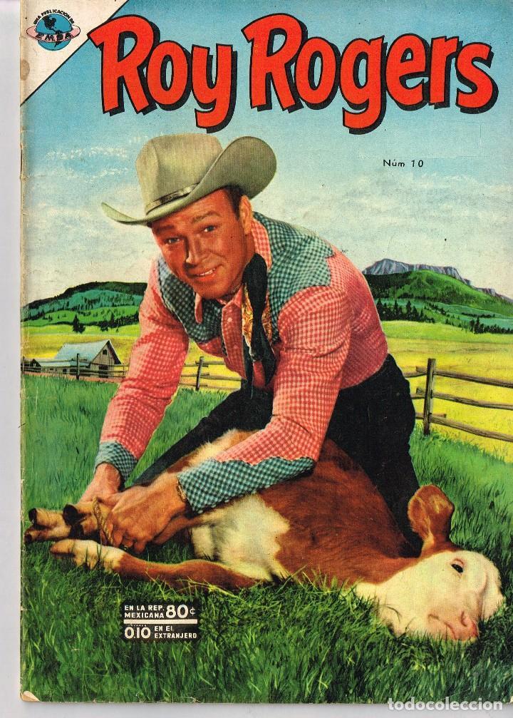 ROY ROGERS 10 1953 COMIC NOVARO (Tebeos y Comics - Novaro - Roy Roger)