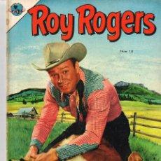 Tebeos: ROY ROGERS 10 1953 COMIC NOVARO. Lote 100626479
