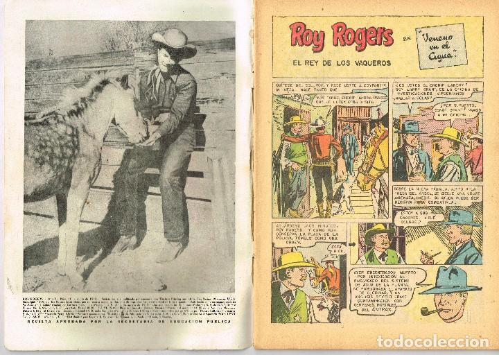 Tebeos: ROY ROGERS 10 1953 COMIC NOVARO - Foto 2 - 100626479