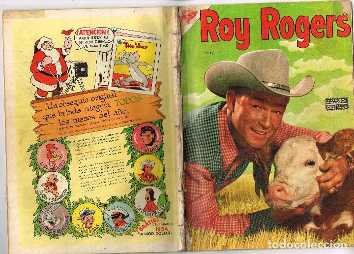 ROY ROGERS 17 1954 NOVARO COMIC (Tebeos y Comics - Novaro - Roy Roger)