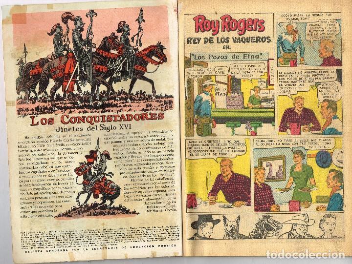 Tebeos: ROY ROGERS 17 1954 NOVARO COMIC - Foto 2 - 100632655