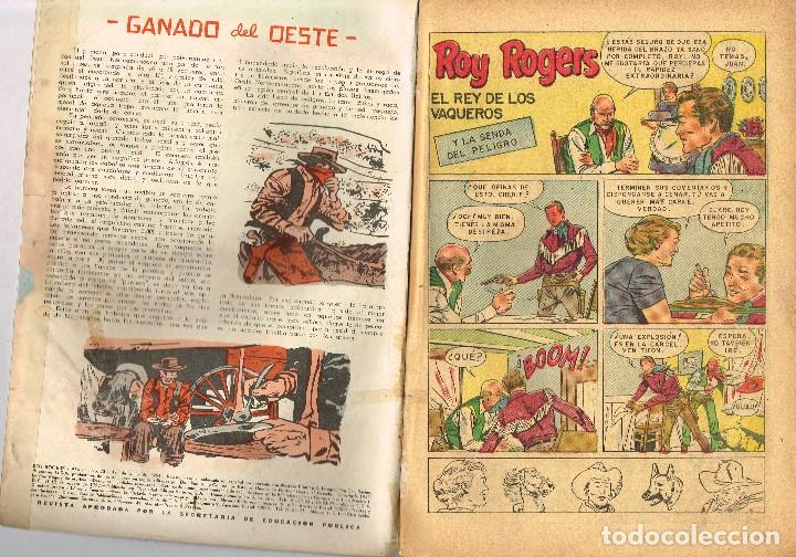 Tebeos: ROY ROGERS 23 1954 NOVARO COMIC - Foto 2 - 100632927