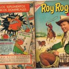 Tebeos: ROY ROGERS 22 1954 NOVARO COMIC. Lote 100633123