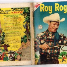 Tebeos: ROY ROGERS 29 1955 NOVARO COMIC. Lote 100633371