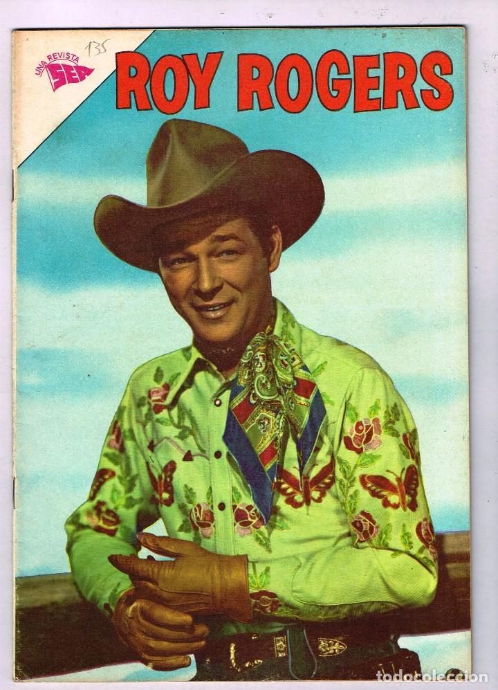 ROY ROGERS 135 1963 NOVARO COMIC (Tebeos y Comics - Novaro - Roy Roger)
