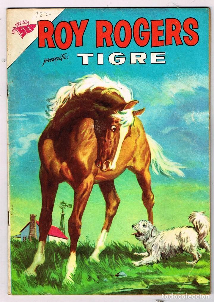 ROY ROGERS 122 1962 NOVARO COMIC (Tebeos y Comics - Novaro - Roy Roger)