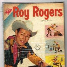 Tebeos: ROY ROGERS 24 1954 NOVARO COMIC. Lote 100650023