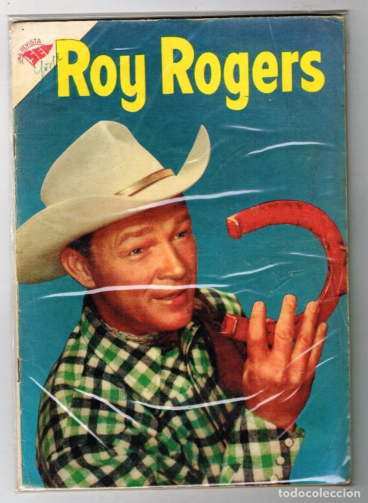 ROY ROGERS 33 1955 NOVARO COMIC (Tebeos y Comics - Novaro - Roy Roger)