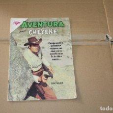 Tebeos: AVENTURA Nº 287, CON CHEYENE, EDITORIAL NOVARO. Lote 101212239