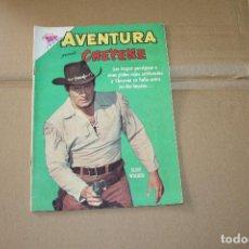 Tebeos: AVENTURA Nº 282, CON CHEYENE, EDITORIAL NOVARO. Lote 101212283