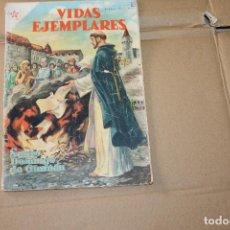 Tebeos: VIDAS EJEMPLARES Nº 23, EDITORIAL NOVARO. Lote 101212451