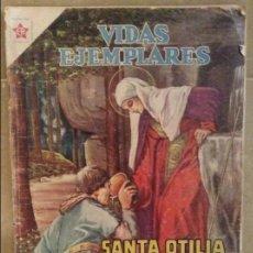 Tebeos: SANTA OTILIA. PATRONA DE ALSACIA (VIDAS EJEMPLARES). Lote 101234807