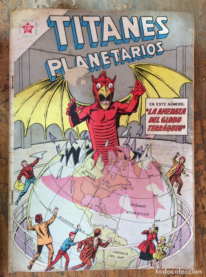 TITANES PLANETARIOS N-134 (Tebeos y Comics - Novaro - Otros)