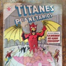 Tebeos: TITANES PLANETARIOS N-134. Lote 101531327