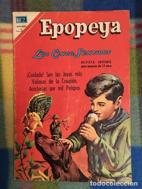 EPOPEYA Nº 114 - LOS CINCO SENTIDOS (Tebeos y Comics - Novaro - Epopeya)
