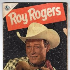 Tebeos: ROY ROGERS # 7 NOVARO 1953 CUENTOS DEL AMIGO CARLOS 32 PAG EL ALGUACIL DESAPARECIDO BUEN ESTADO. Lote 102479247